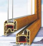 Fenêtre PVC imitation bois Druet