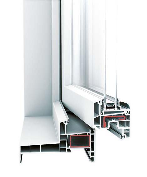Châssis PVC isolant