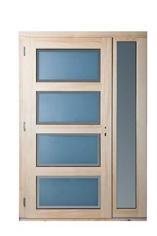 Portes d 39 entr e pose en neuf ou r novation secteur metz for Porte dentree bois vitree