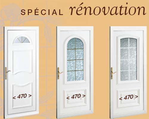 Portes d 39 entr e pose en neuf ou r novation secteur metz - Poser une porte d entree en renovation ...